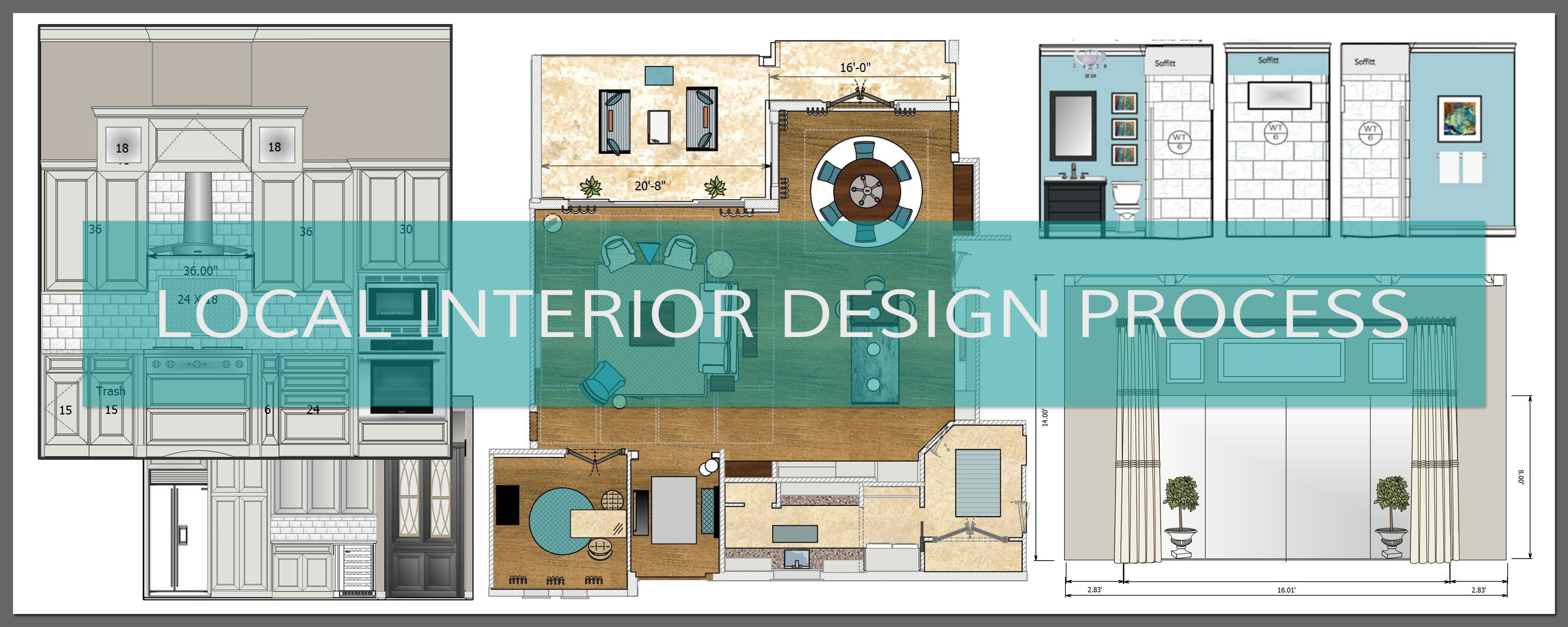 Local interior design process terri davis art design for Interior design process