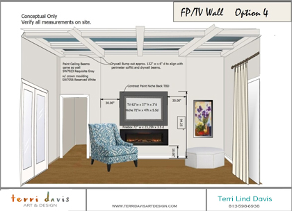 Local Interior Design Process  Terri Davis Art  Design - House design questionnaire for clients
