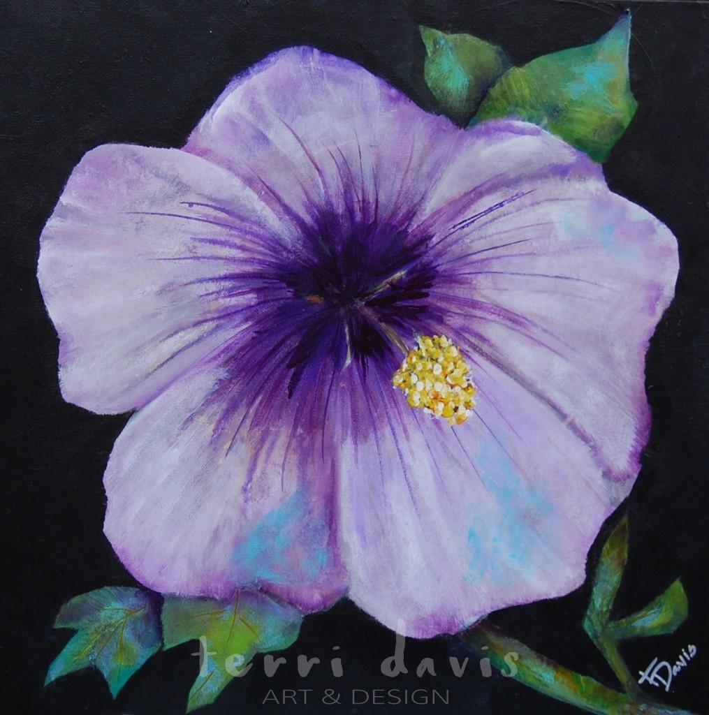 Ivan's Garden 6 - Purple Hibiscus