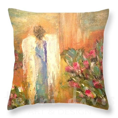 entertaining angels pillow