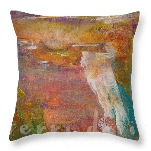 new day rising pillow