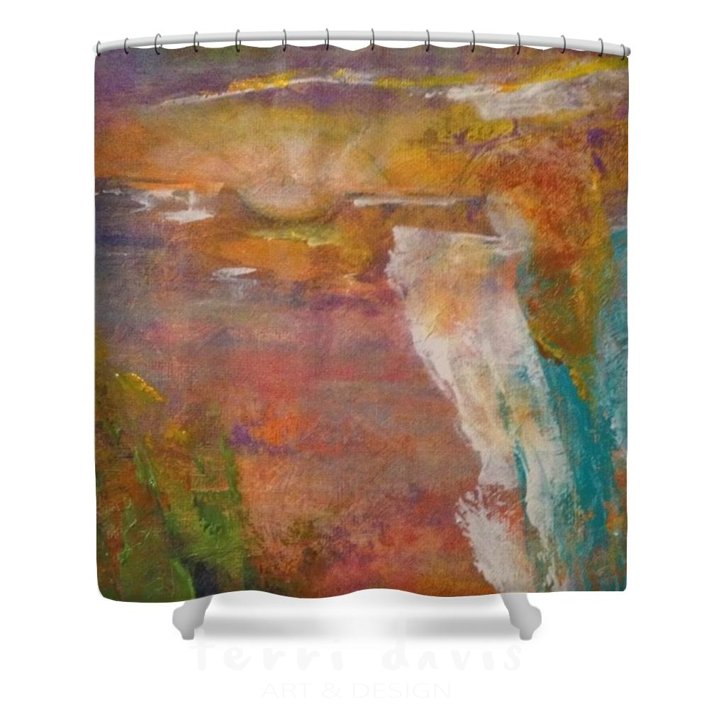 new day rising shower curtain