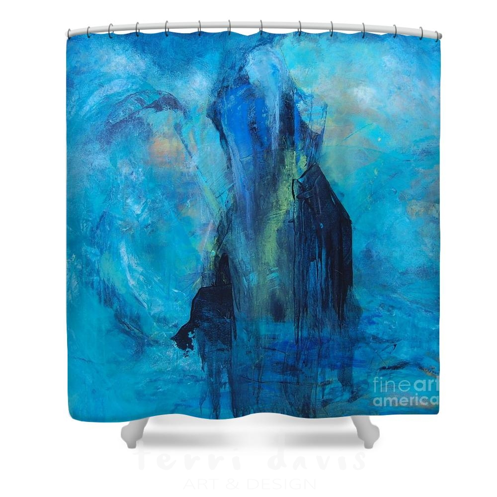riding the storm shower curtain