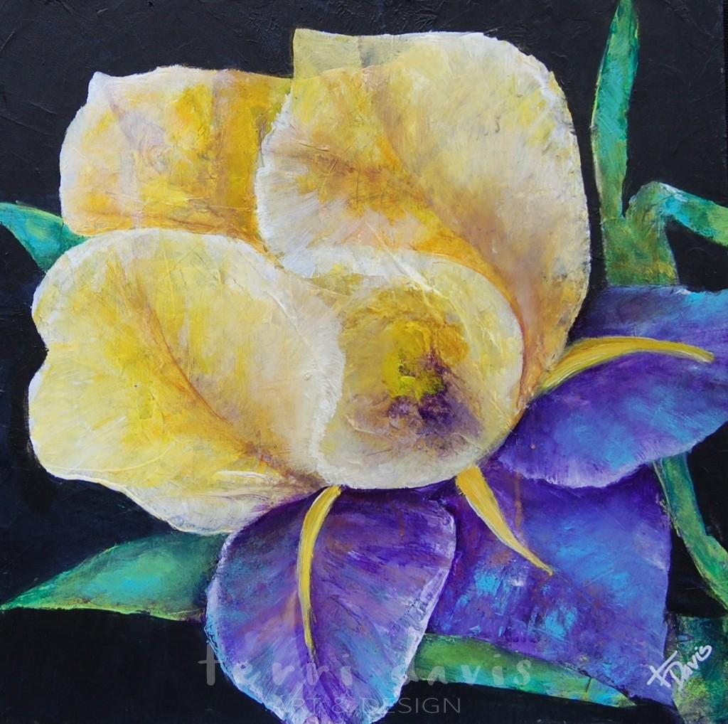 Ivan's Garden 1 - Yellow Iris
