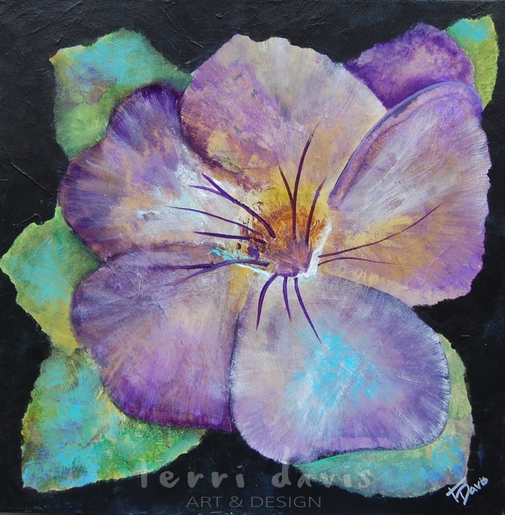 Ivan's Garden 2- Purple Pansy