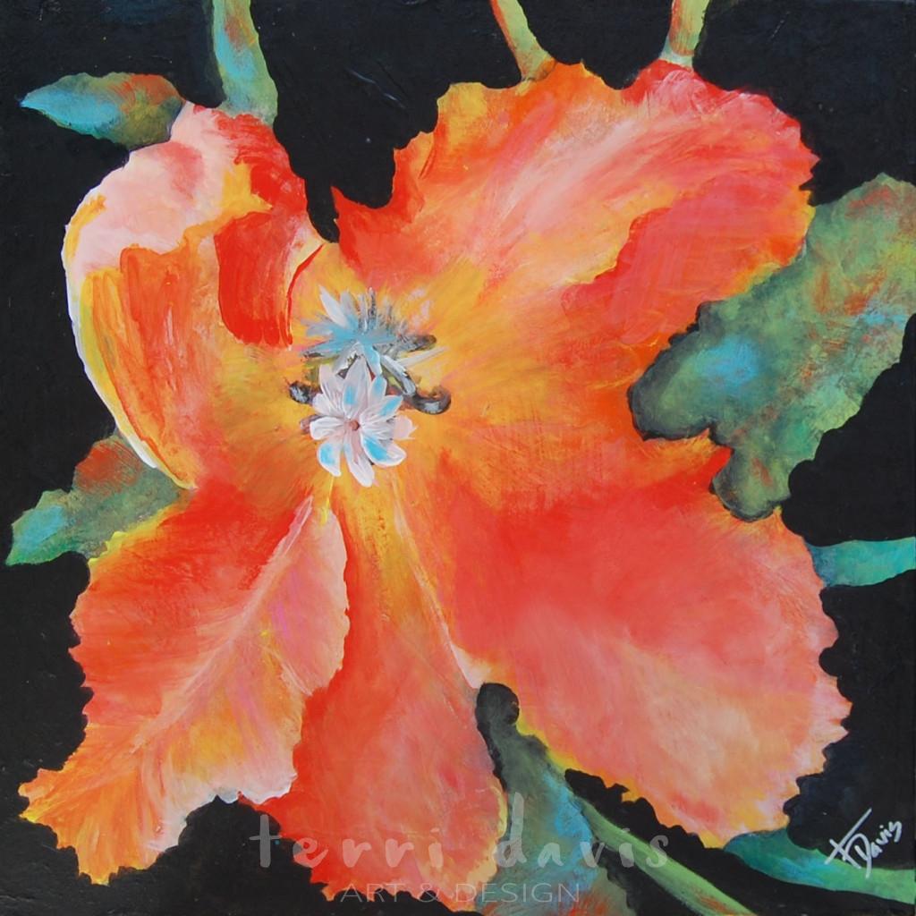 Ivan's Garden 7  -Parrot Tulip