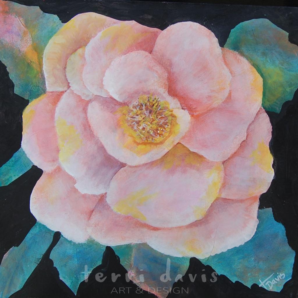 Ivan's Garden 8 - Pumpkin Rose